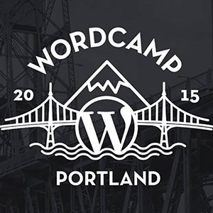 WordCamp PDX Badge 300px
