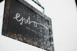Enso Winery Sign Photo.