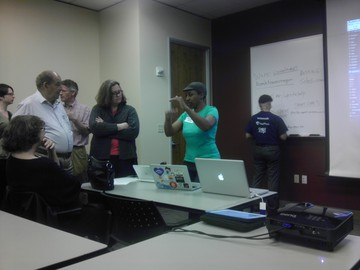Kronda speaks at WordPress Meetup